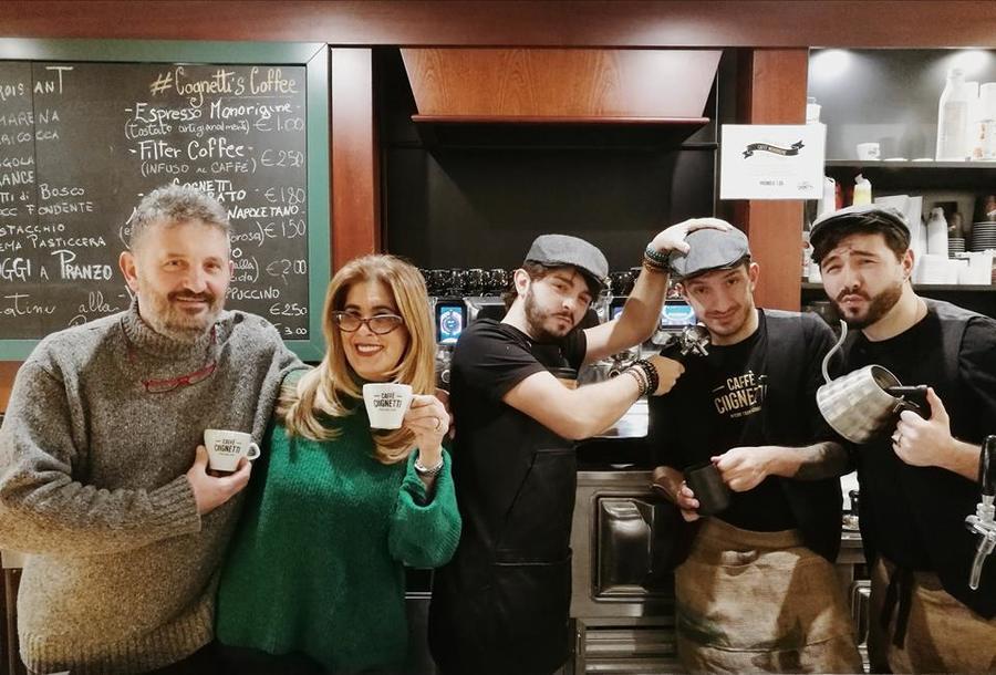 La storia di Caffè Cognetti