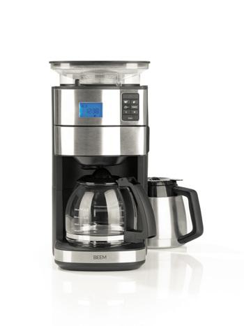 Machine à café filtre avec moulin BEEM - 1,25 l - Fresh Aroma Perfect II - Duo