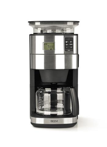 Macchina del caffè filtro con Macinacaffè BEEM - 1,25 l - Fresh Aroma Perfect II - Vetro