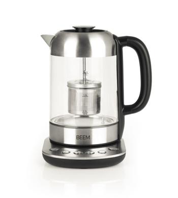 Tee- und Wasserkocher BEEM - 1,7 l - Teatime II mit Teesieb