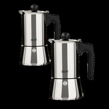 Cafetière Italienne BEEM - MOKA - 0,2 l - Pack 2 ×