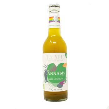 3 x BIO CANNABIS DRINK | with ginger & curcuma by Jamu