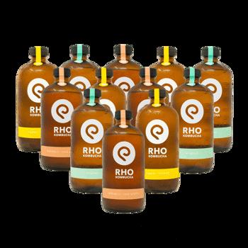 Bio Kombucha Mix 12x bottiglie 480ml by RHO KOMBUCHA