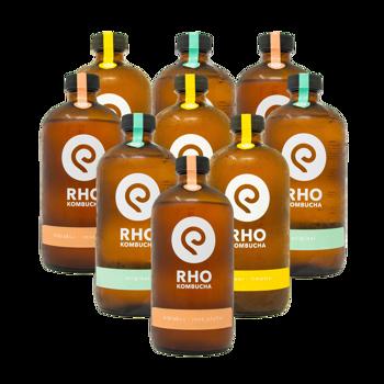 Bio Kombucha Mix 9x bottiglie 480ml by RHO KOMBUCHA