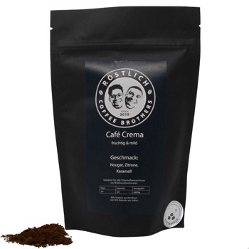 Café Crema - Fruchtig und Mild  by Röstlich Coffee Brothers