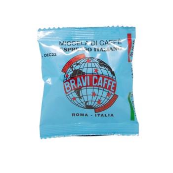 Miscela Deca - 44 mm - Per tutte le macchine del caffè in cialde  (x150) by Bravi Caffè