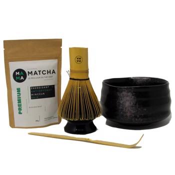 Scatola per degustazione di tè Matcha (nero) by Mama Matcha
