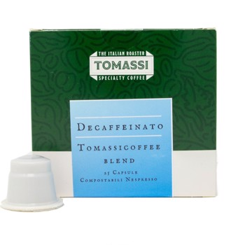 Decaffeinato Tomassicoffee Blend - Compatibles Nespresso (x25) by Tomassi Coffee