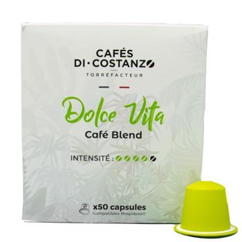 Blend Maison Dolce Vita - Compatibles Nespresso (x50) by Cafés Di-Costanzo