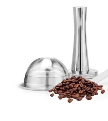 Eco-capsules Nespresso® Vertuo 70 ml - 1 capsule et 1 tasseur