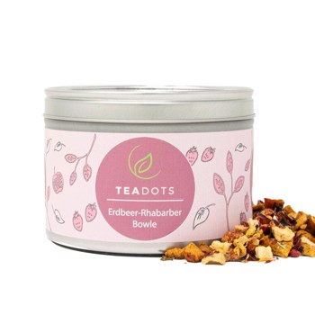 Erdbeer-Rhabarber-Bowle by TeaDots