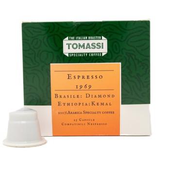 Café Espresso 1969 Brasile Diamond Etiopia Kemal  - Compatibles Nespresso (x25) by Tomassi Coffee