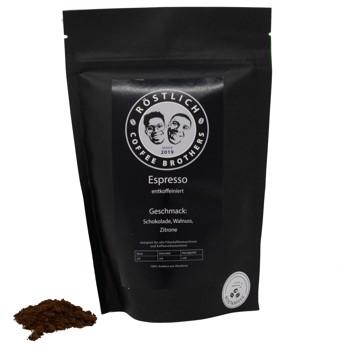 Espresso DECAF by Röstlich Coffee Brothers