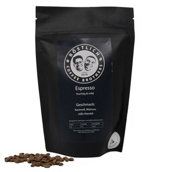 Espresso - Fruchtig und Mild  by Röstlich Coffee Brothers