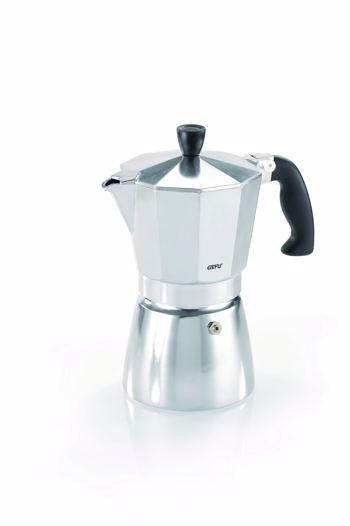 LUCINO Italienische Espressokanne - 6 Tassen