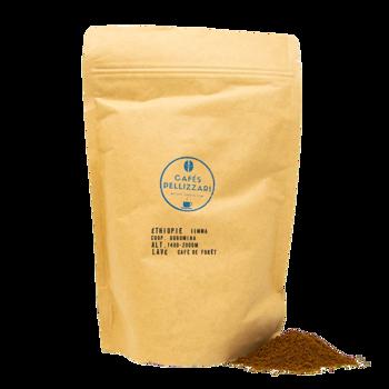 Éthiopie, Jimma - Moulu Espresso Pochette 500 g
