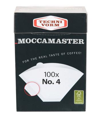 Filtres N°4 Moccamaster - 1 boîte de 100