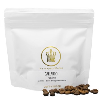 Gallardo by His Majesty the Coffee