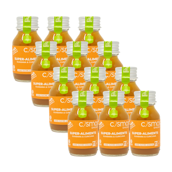 Bevanda Guaranà & Curcuma 12 bottiglie 55ml by Cosmos Energy