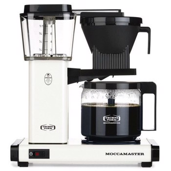 Cafetière à filtre électrique Moccamaster - 1,25 l  - HBG Blanche