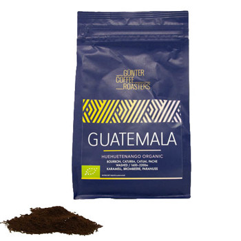 Huehuetenango Guatemala, Bio Espresso by Günter Coffee Roasters