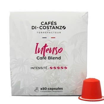Blend Maison Intenso - Compatibles Nespresso (x50) by Cafés Di-Costanzo