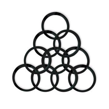Joints en silicone - Capsules Nespresso® Nouvelle génération - 10 pièces