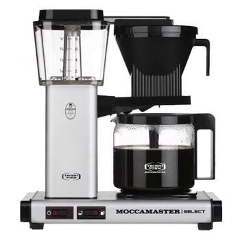 Cafetière à filtre électrique Moccamaster - 1,25 l - KBG Alu Mat