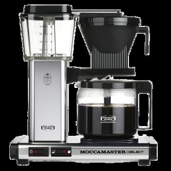 Cafetière à filtre électrique Moccamaster - 1,25 l - KBG Alu Poli
