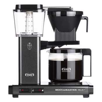 Macchina del caffè a filtro elettrica Moccamaster - 1,25 l - KBG Antracite