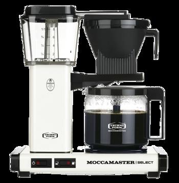 Cafetière à filtre électrique Moccamaster - 1,25 l - KBG Blanc