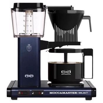 Cafetière à filtre électrique Moccamaster - 1,25 l - KBG Bleu Nuit