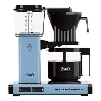 Macchina del caffè a Filtro Elettrico Moccamaster - 1,25 l - KBG Blu pastello