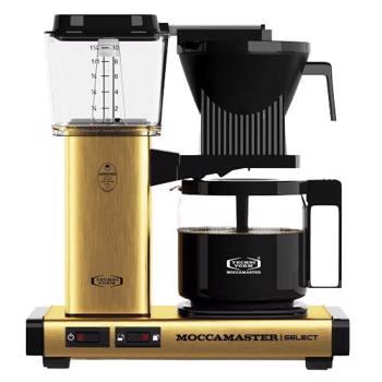 Cafetière à filtre électrique Moccamaster - 1,25 l - KBG Doré