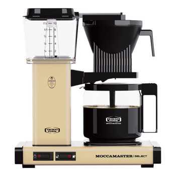 Macchina del caffè a filtro elettrico Moccamaster - 1,25 l - KBG Giallo Pastello