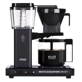 Cafetière à filtre électrique Moccamaster - 1,25 l - KBG Noir Mat