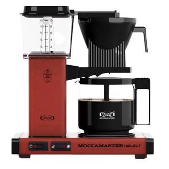 Cafetière à filtre électrique Moccamaster - 1,25 l - KBG Rouge Brique