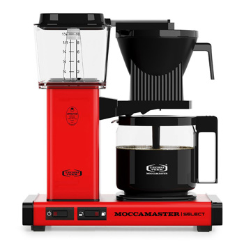 Macchina del caffè a filtro elettrica Moccamaster - 1,25 l - KBG Rossa