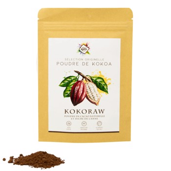Kokoraw Cacao - Sucre de canne by Kokoa Square