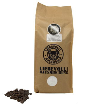 Un mélange de café Liebevoll by Liebevoll!