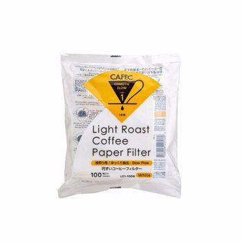 Cafec - filtre Light Roast 1 tasse - 100 pièces