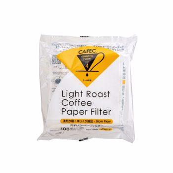 Cafec - filtre Light Roast 4 tasses - 100 pièces