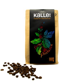 """Limited Production """"D"""" Columbia Espresso by Kalles Feinster Röstkaffee"""
