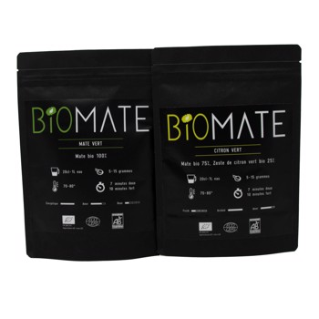 Duo Découvert: Maté Vert- Citron Vert by Biomaté