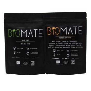 Duo Découvert:Maté Vert- Rooibos Exotique by Biomaté