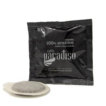 100 % Arabica du Paradis - 44 mm - Pour toutes les machines à dosettes (x75) by Torrefazione Paradiso