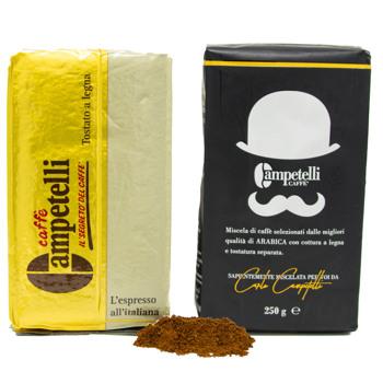 Moka noir et or by Caffè Campetelli