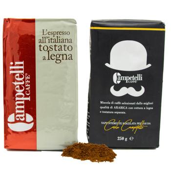Moka noir et rouge  by Caffè Campetelli