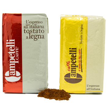 Moka rouge et or by Caffè Campetelli