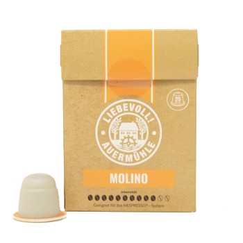 Molino capsules, Compatibles Nespresso (x25) by Liebevoll!